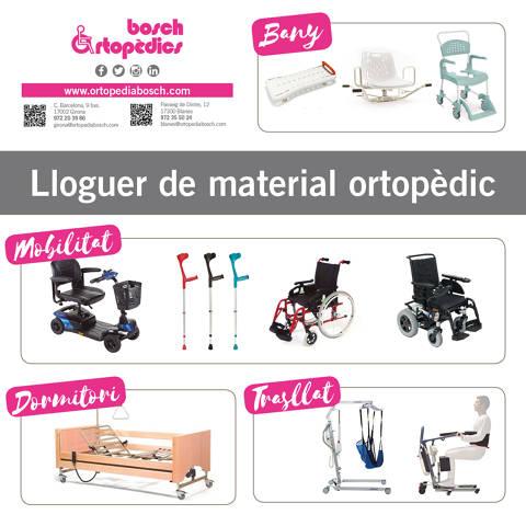 Lloguer de material ortopèdic
