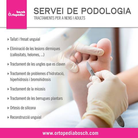 Servei de podologia
